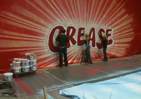 Making of Grease Curtains